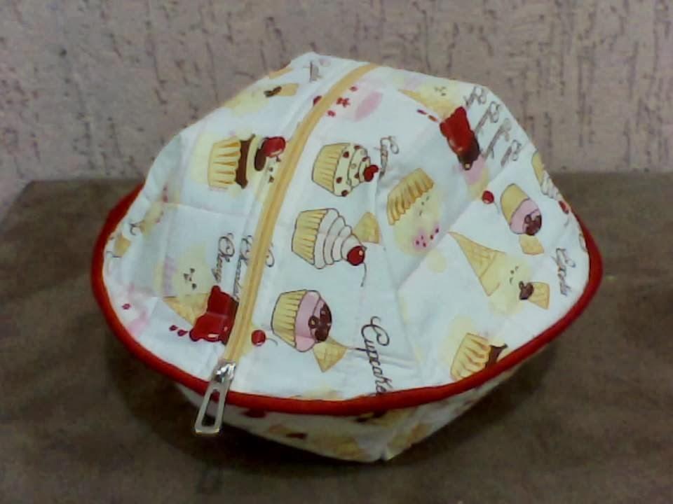 Artesanato Em Geral Com Tecido ~ Angel Catalani Artesanatos Cestinha porta p u00e3o em tecido com ziper, ideal para servir o p u00e3o e