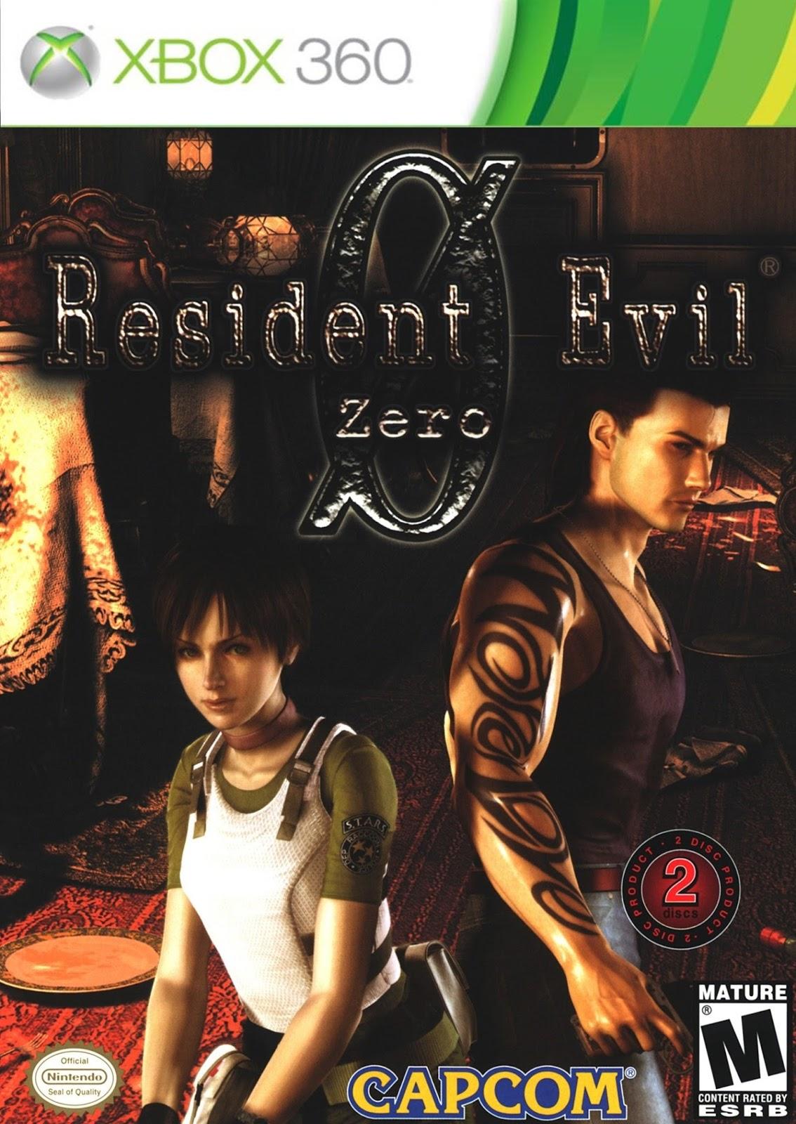 Resident Evil 0 HD Remaster ESPAÑOL XBOX 360