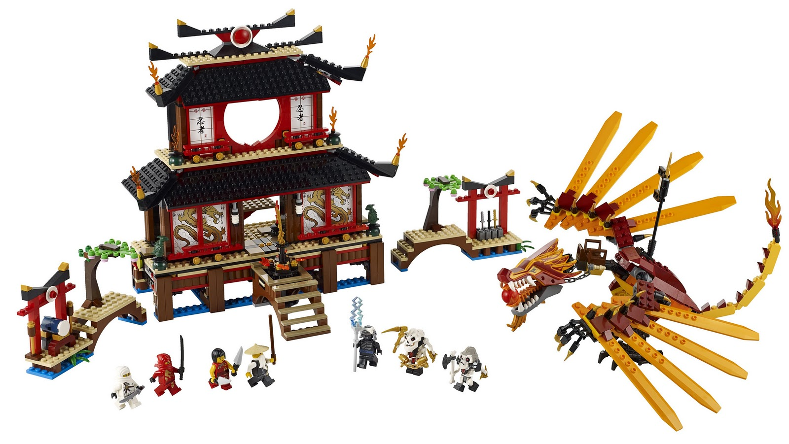 Double brickmania lego ninjago 2011 summer sets - Lego ninjago logo ...