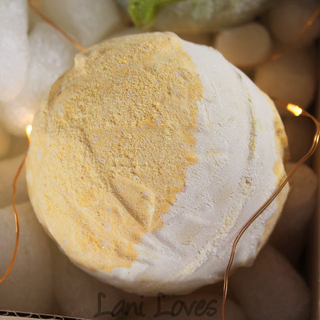 LUSH Yog Nog Bath Bomb Review