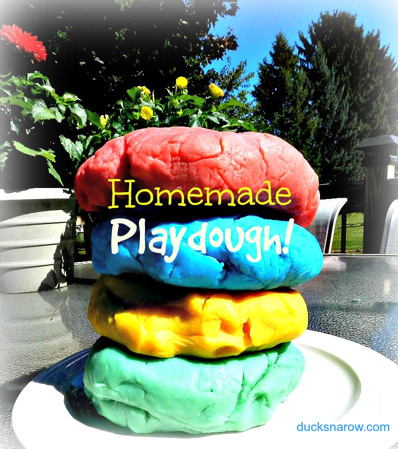 How to make playdough #playdough #playdoughrecipe #playdoh Ducks n a Row