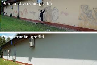 Odstranění graffiti a antigraffitová ochrana AGO