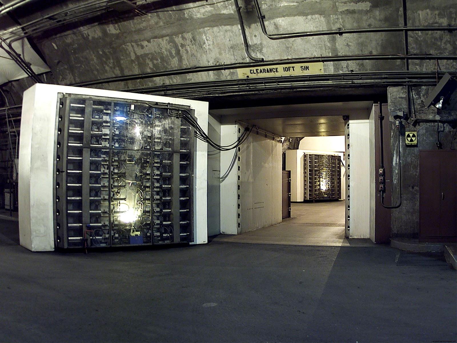 Colorado Cheyenne Mountain Bunker Doors