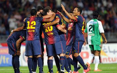 Volvió Messi y con él, las goleadas del Barcelona