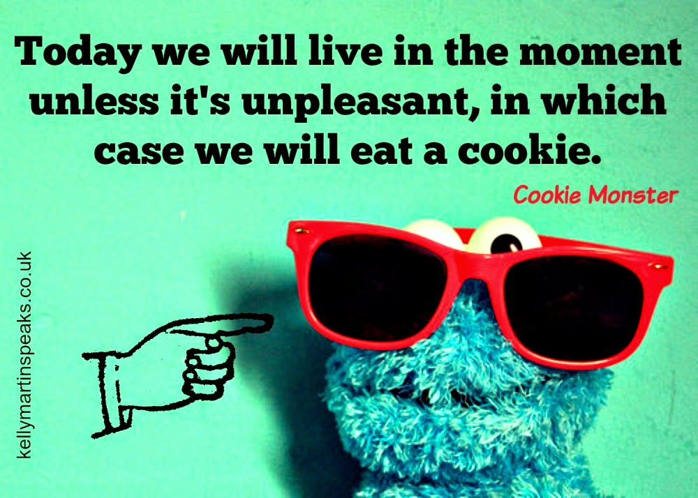 Cookie Monster Quote moment