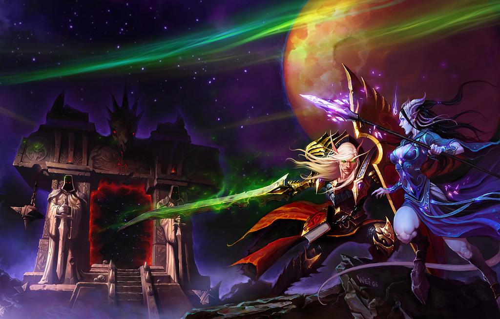 World of Warcraft HD & Widescreen Wallpaper 0.257197417791993