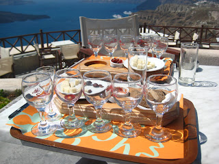Santorini - Try Vinsanto chocolates - Greece