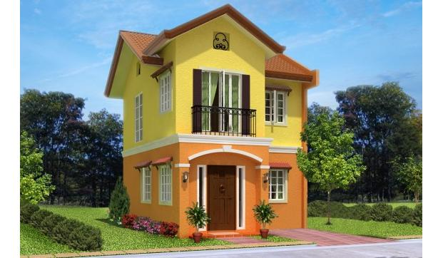Caviness Two Storey Single Attached House in Lapu lapu