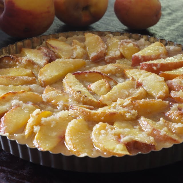 Peach Tart ~ Healthy Eating for Ordinary People