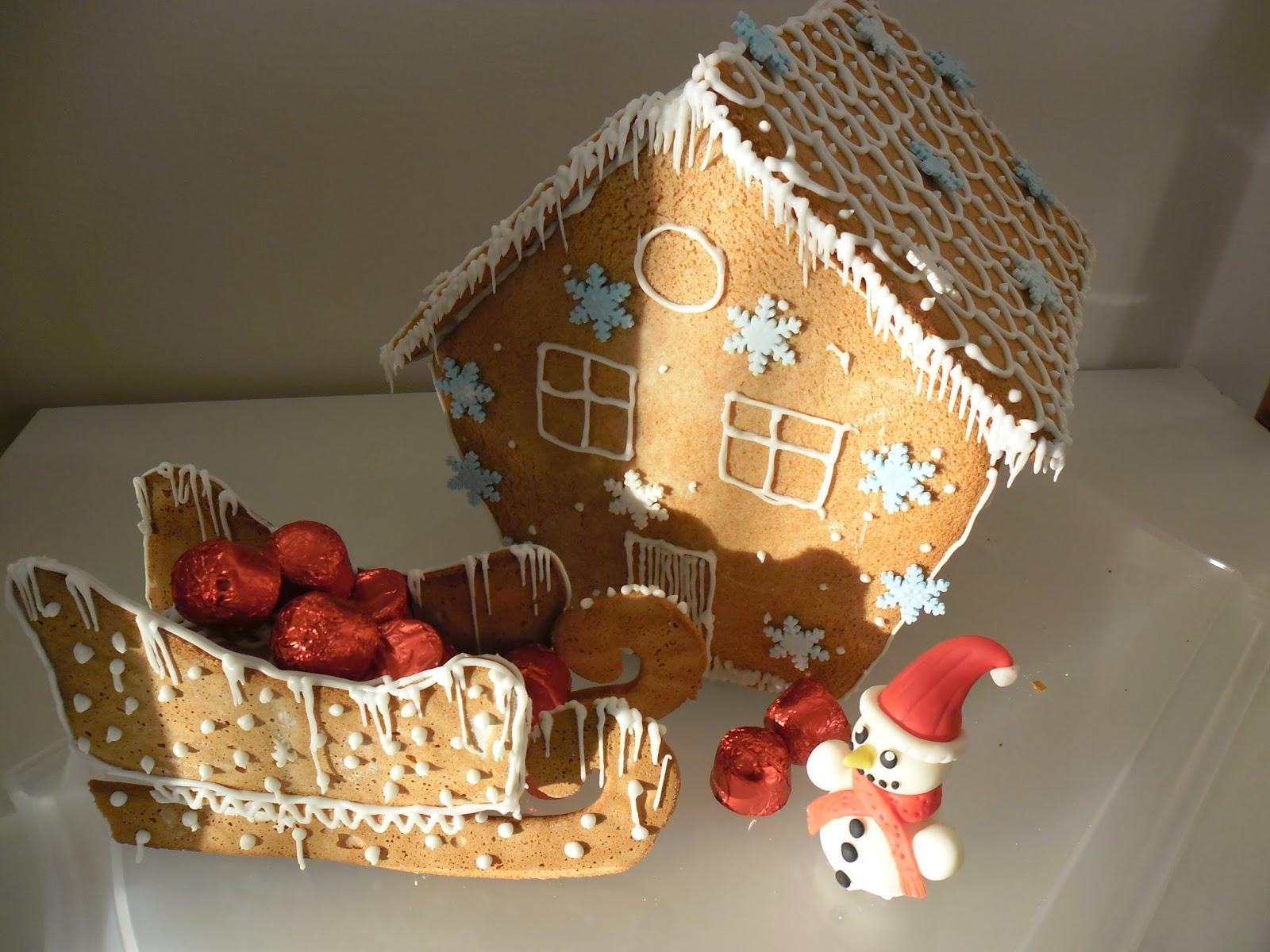 Gateaux d 39 aline maison en pain d 39 pice - Kit maison en pain d epice ...