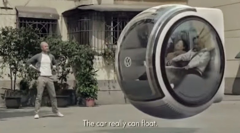 A Hovercar That Works Using The Magnetics Of The Earth!