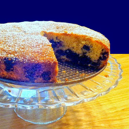 Blueberry-Muffin Cake ...from the kitchen of One Perfect Bite courtesy ...