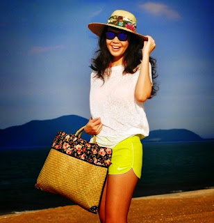 Straw hats and bags The Beach House Danang