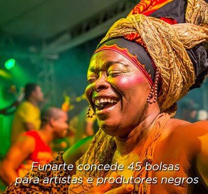 Brasil | Bolsa Funarte de Fomento aos Artistas e Produtores Negros