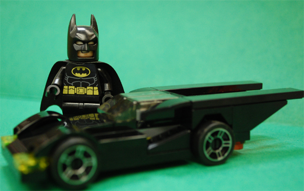 Toyriffic: Lego Batmobile and Target Holiday Batman