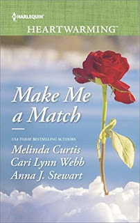 Heidi Reads... Make Me a Match by Melinda Curtis, Cari Lynn Webb, Anna J. Stewart