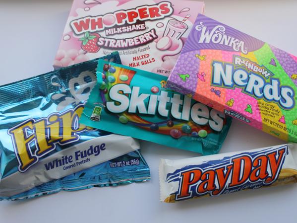 Jamin American Candy + WINACTIE!
