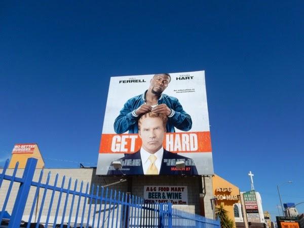 Get Hard movie billboard