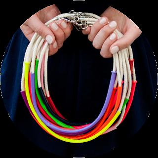 réaliser et fabriquer un collier en ballon long
