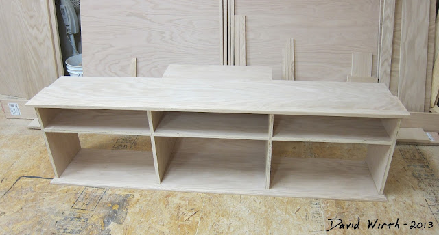 simple tv stand, wood, build