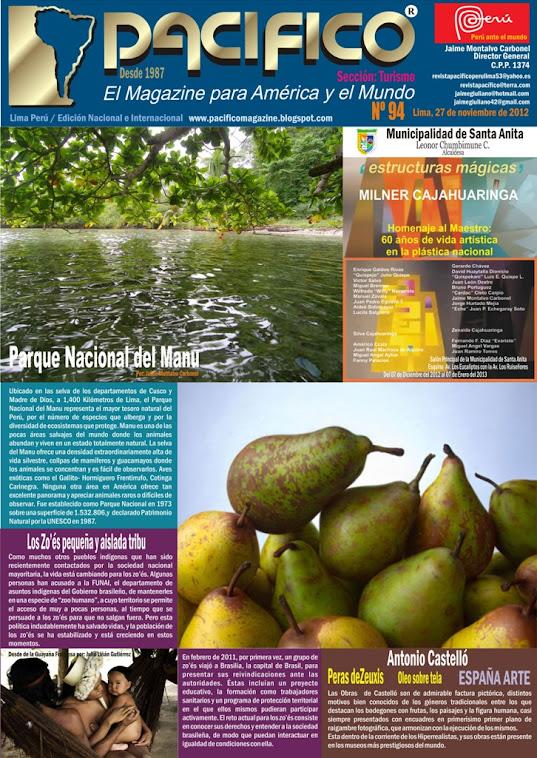 Revista Pacífico Nº 94 Turismo