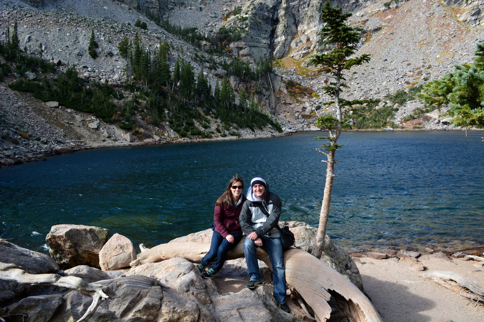 cozy birdhouse | emerald lake at rocky mountain national park