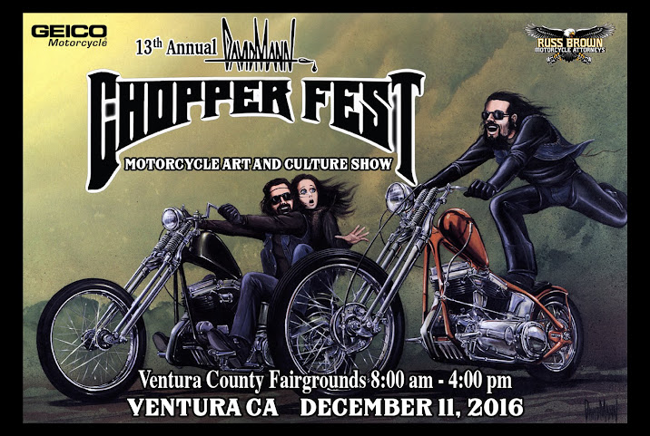 We are proud to support the David Mann Chopper Fest
