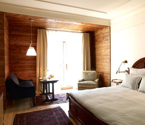 Ambientes com madeira