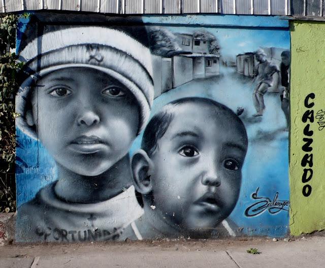 street art in santiago de chile salazart arte callejero