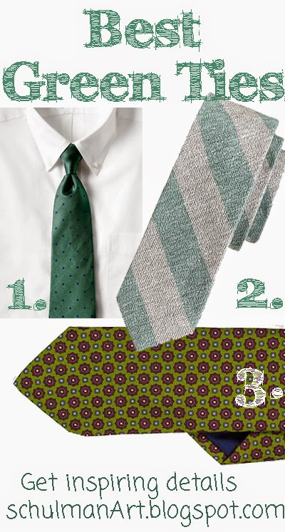 best green ties for men