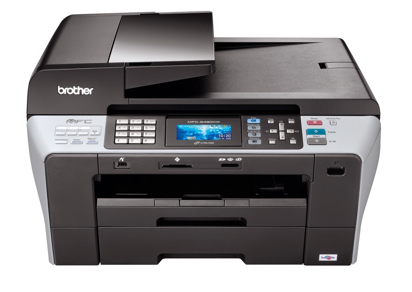 Printer Driver For Brother Mfc6490cw
