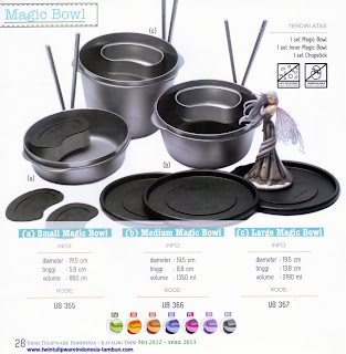 Info & Harga Twin Tulip Tulipware 2014 : Small Magic Bowl | Medium Magic Bowl | Large Magic Bowl - Maestro