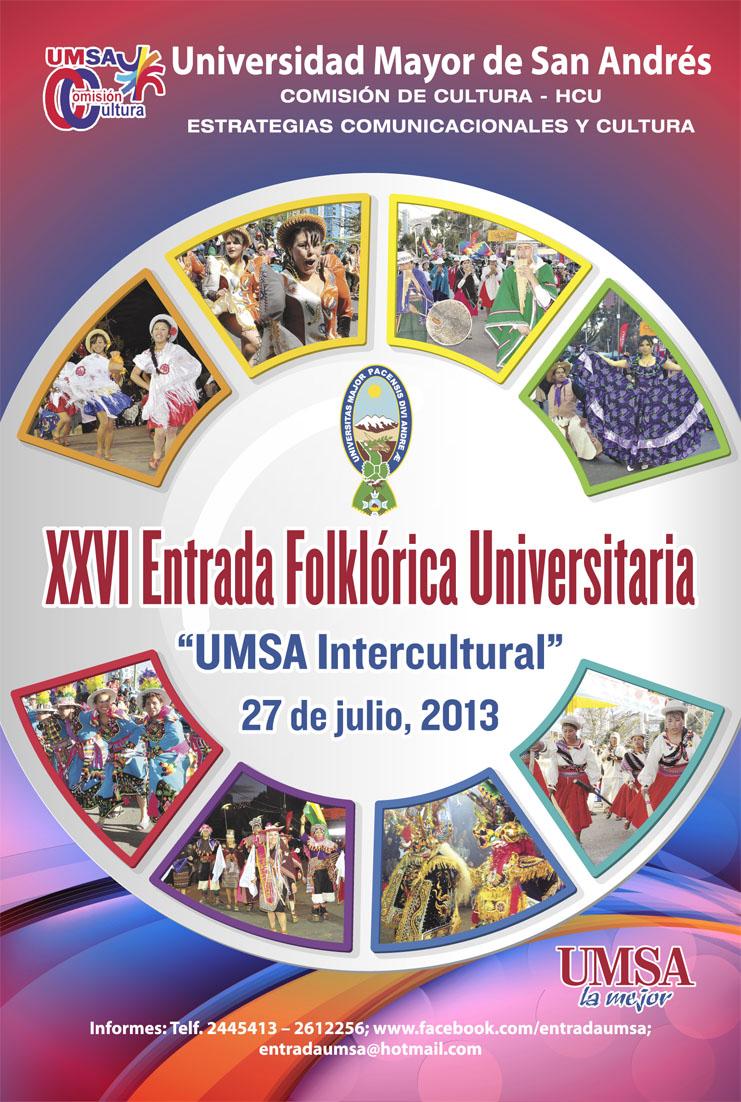 Entrada Folklórica de la UMSA