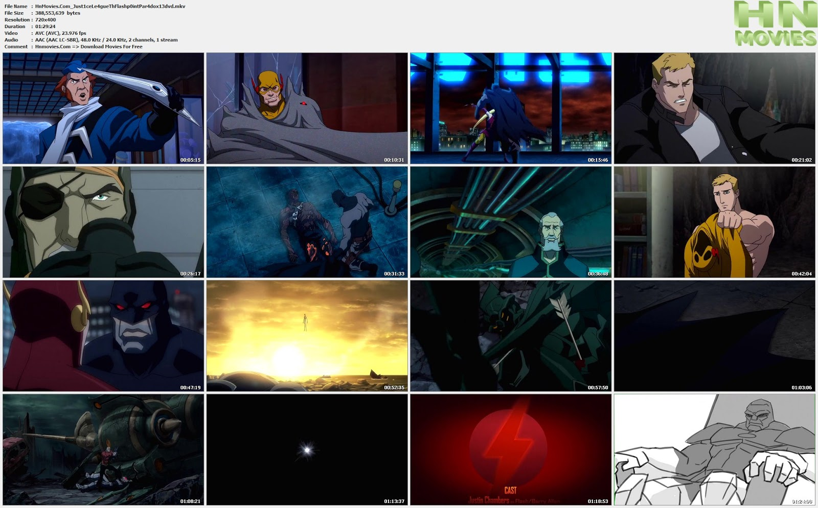 movie screenshot of Justice League The Flashpoint Paradox fdmovie.com