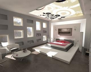 Farklı Yatak Odası Dekorasyonu