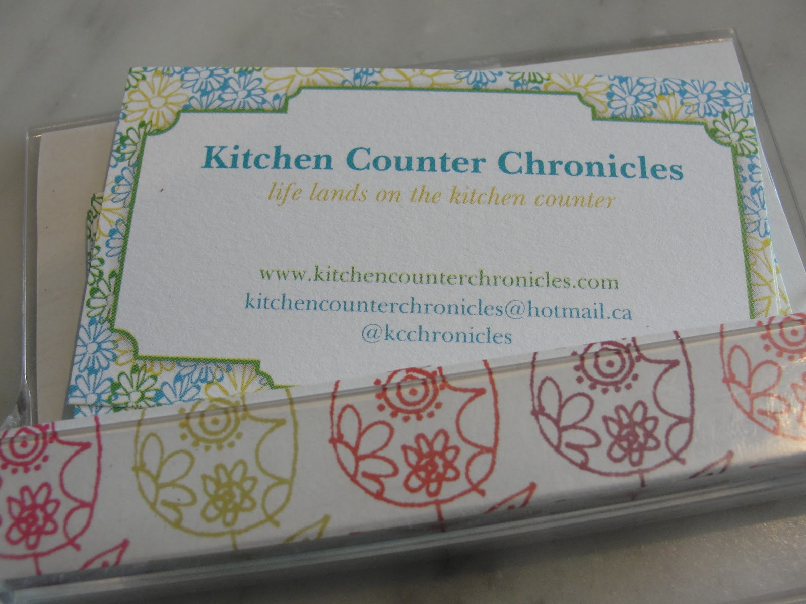 make your own handmade business card holder
