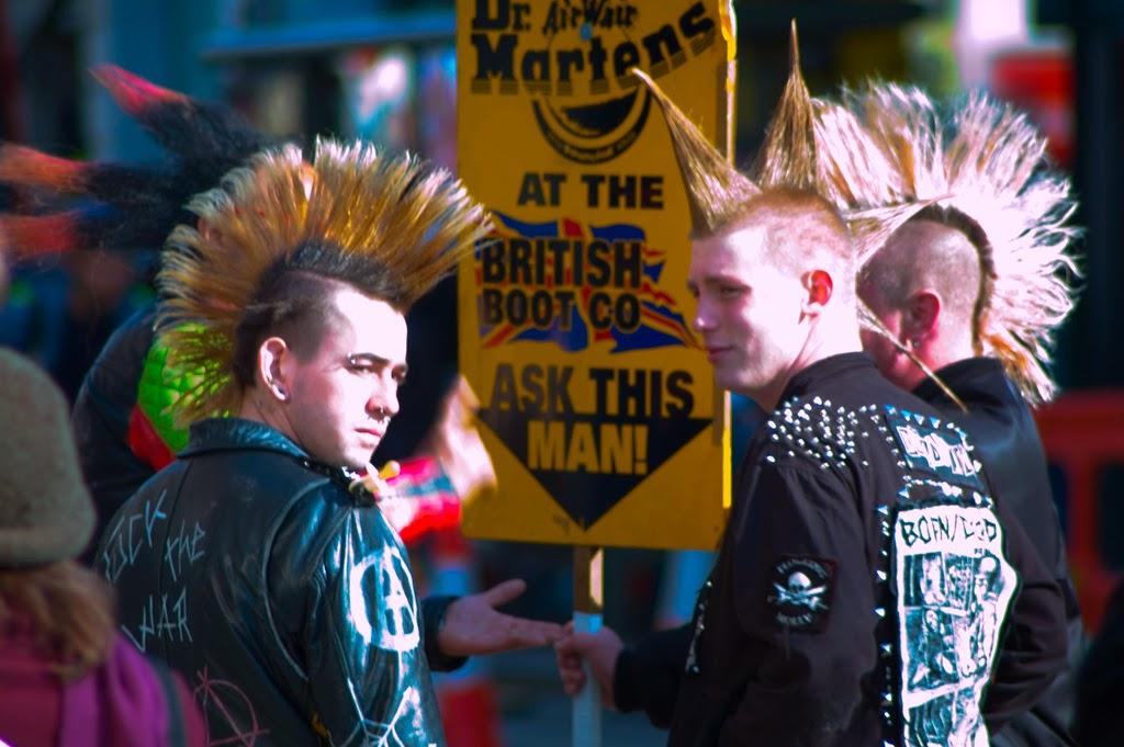 Punks en Londres