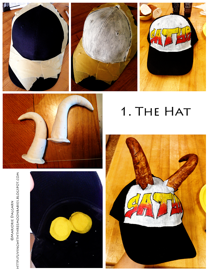 living with ThreeMoonBabies | Satyr Costume: the hat