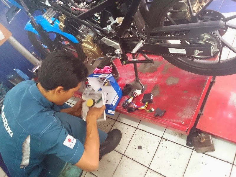 Tips Mengatasi Berbagai Masalah Pada Motor Suzuki Satria