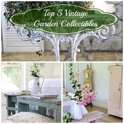 Top 5 Vintage Garden Collectibles