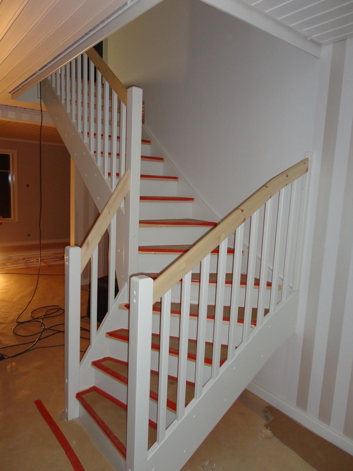 Nytt hus på Ön: februari 2012
