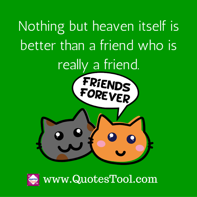 Best and Real friend quotes image