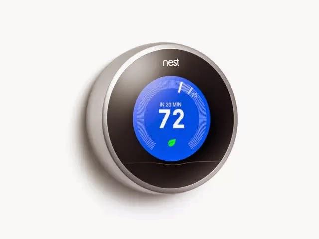 Mes droldids les thermostats nest arrivent en france - Thermostat connecte nest ...