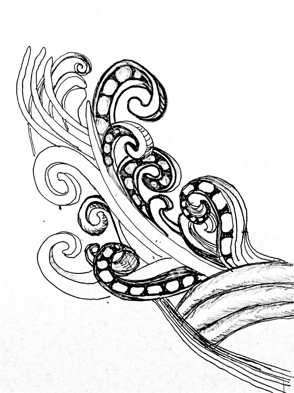 Different Line Designs : The helpful art teacher rhythmic line designs and patterns