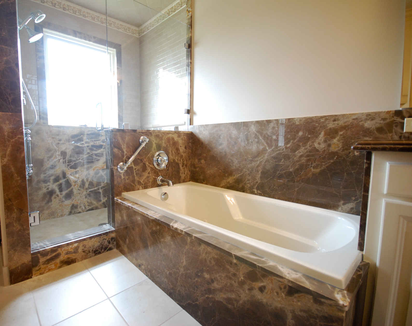 The Granite Gurus: Holiday Re-Runs: Master Bath Renovation Part 2 ...