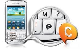 Samsung Galaxy Chat B5330 Android Murah Rp 700 Ribuan