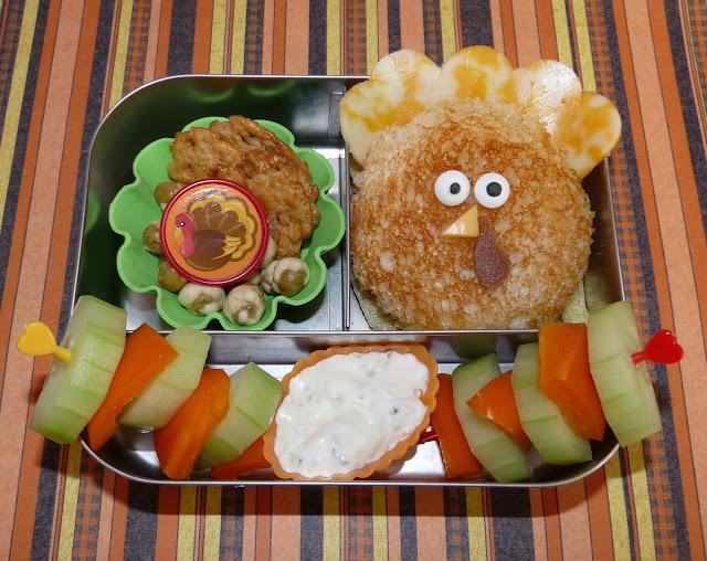 turkey bento lunchbots