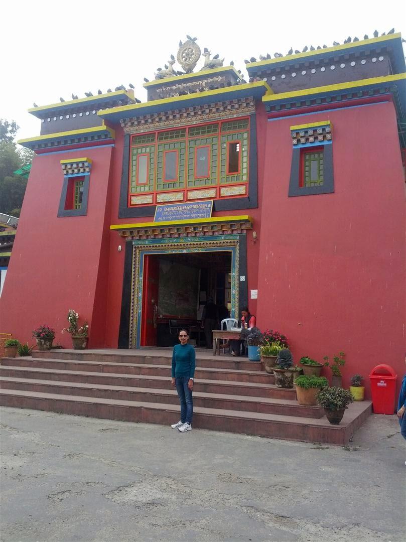 Rumtek Monastery Entrance