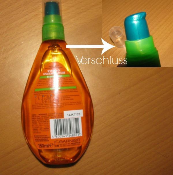 Das Vitamin je im Shampoo für das Haar