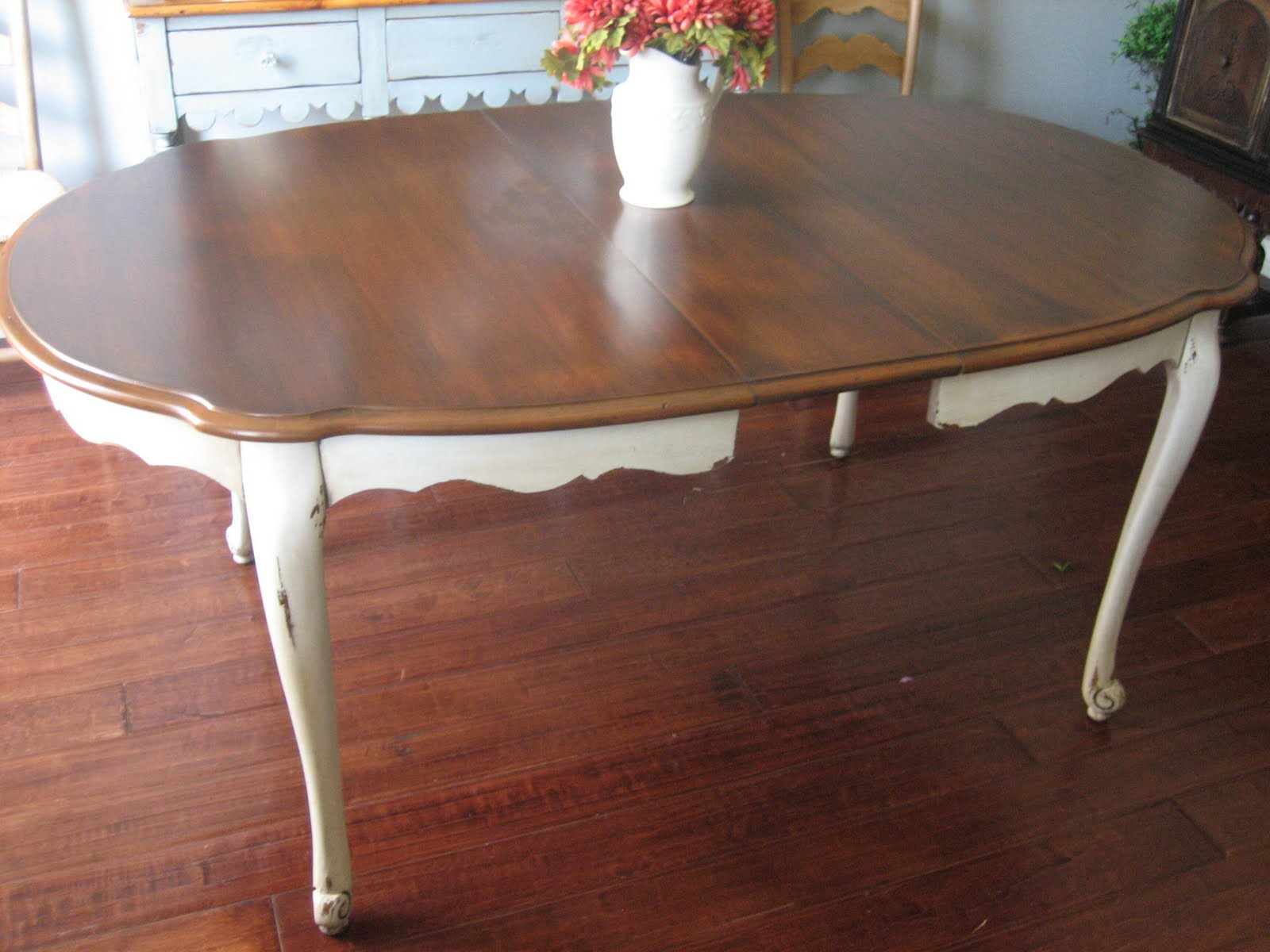 European Paint Finishes Cottage Dining Table